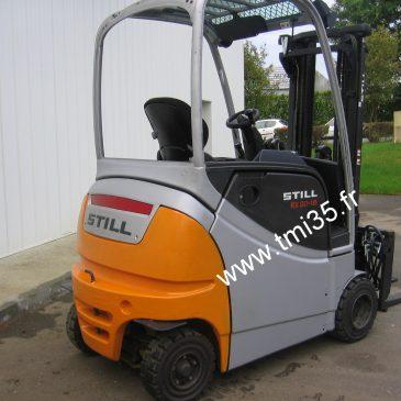 Chariot élévateur électrique 1.8 T. disponible à la location