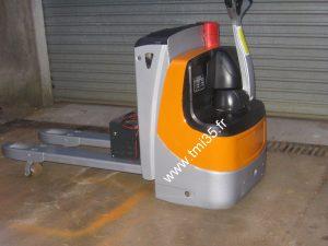Transpalette électrique STILL à conducteur accompagnant EXU18