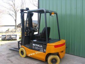 Chariot frontal électrique STILL R2016 4 roues
