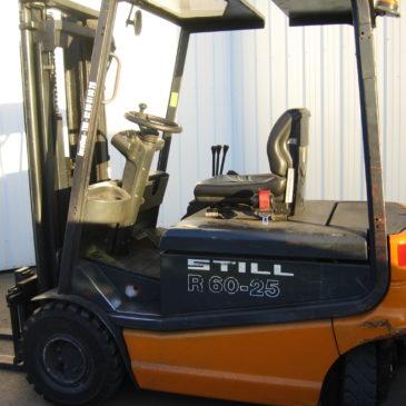Chariot frontal électrique 2T5 spécial containers