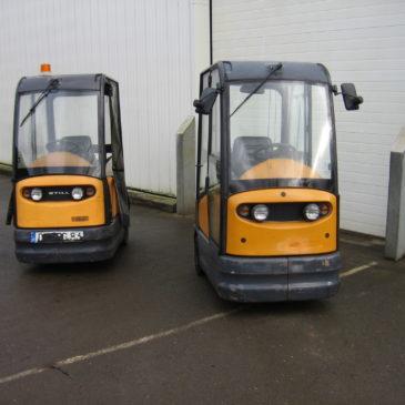 Tracteurs Still R06 avec cabine
